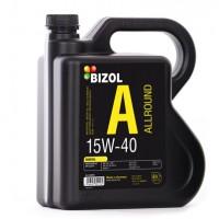 Минеральное моторное масло -  BIZOL Allround 15W-40 4л