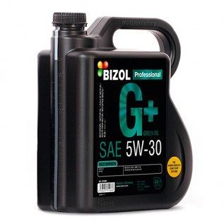 Синтетическое моторное масло -  BIZOL Green Oil+ 5W-30 4л