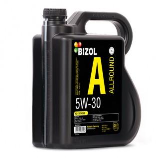 Синтетическое моторное масло -  BIZOL Allround 5W-30 4л