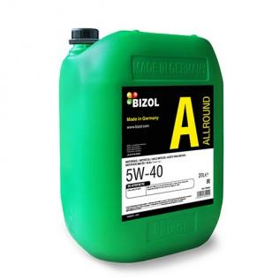 Синтетична моторна олива -  BIZOL Allround 5W-40 20л