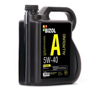 Синтетична моторна олива -  BIZOL Allround 5W-40 4л