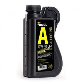 Напівсинтетична моторна олива -  BIZOL Allround 10W-40 CI-4 1л