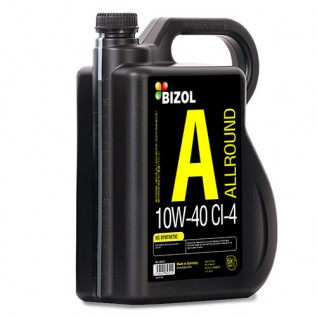 Напівсинтетична моторна олива -  BIZOL Allround 10W-40 CI-4 5л