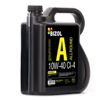 Полусинтетическое моторное масло -  BIZOL Allround 10W-40 CI-4 4л
