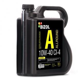 Напівсинтетична моторна олива -  BIZOL Allround 10W-40 CI-4 4л