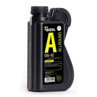 Синтетическое моторное масло -  BIZOL Allround 0W-40 1л