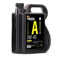 Синтетична моторна олива -  BIZOL Allround 0W-40 4л