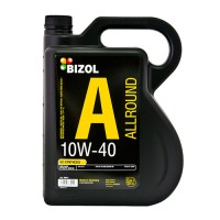 Полусинтетическое моторное масло -  BIZOL Allround 10W-40 5л