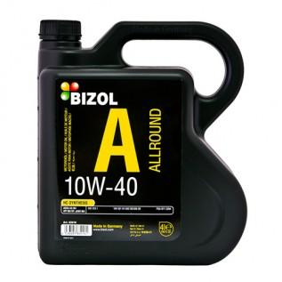 Полусинтетическое моторное масло -  BIZOL Allround 10W-40 4л