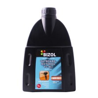 Масло моторное 2-тактное для лодок - Bizol Outboard-Motoroil TC-W3, 1Л